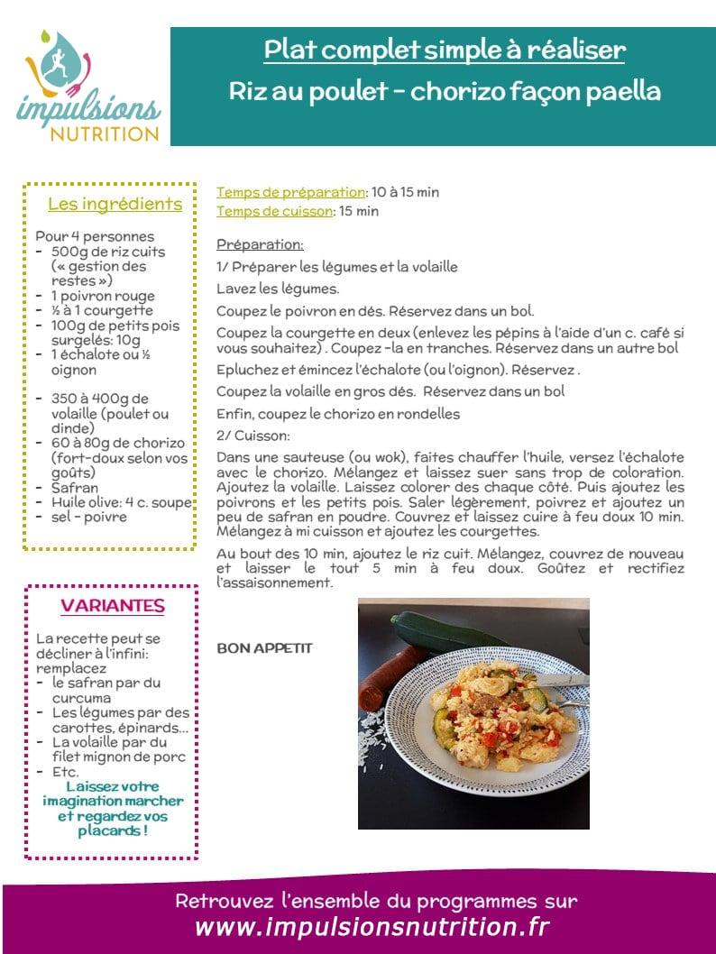 Idee Recette Confinement Facile A Faire Le Riz Facon Paella Impulsions Nutrition