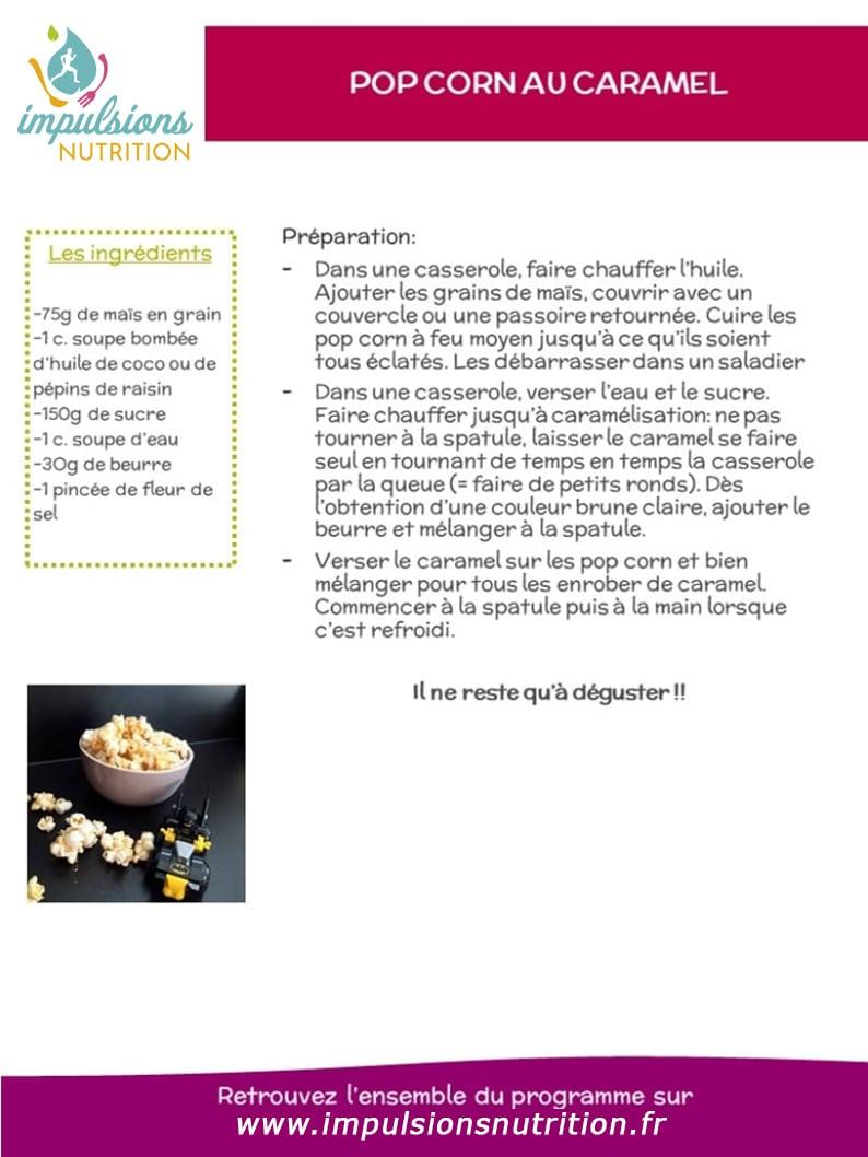 IDEE RECETTE CONFINEMENT AVEC LES ENFANTS : le pop corn !